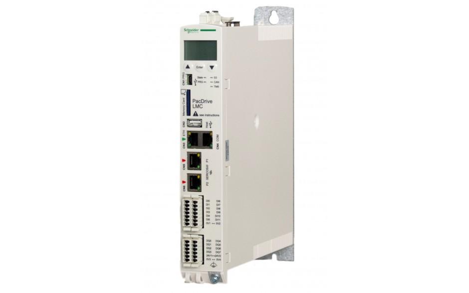 Kontroler serii Eco LMC100; 512MB RAM/FLASH; Intel Atom 1.6 GHz; zasilanie 24V; 8xDI; 4xTP; 8xDO 2