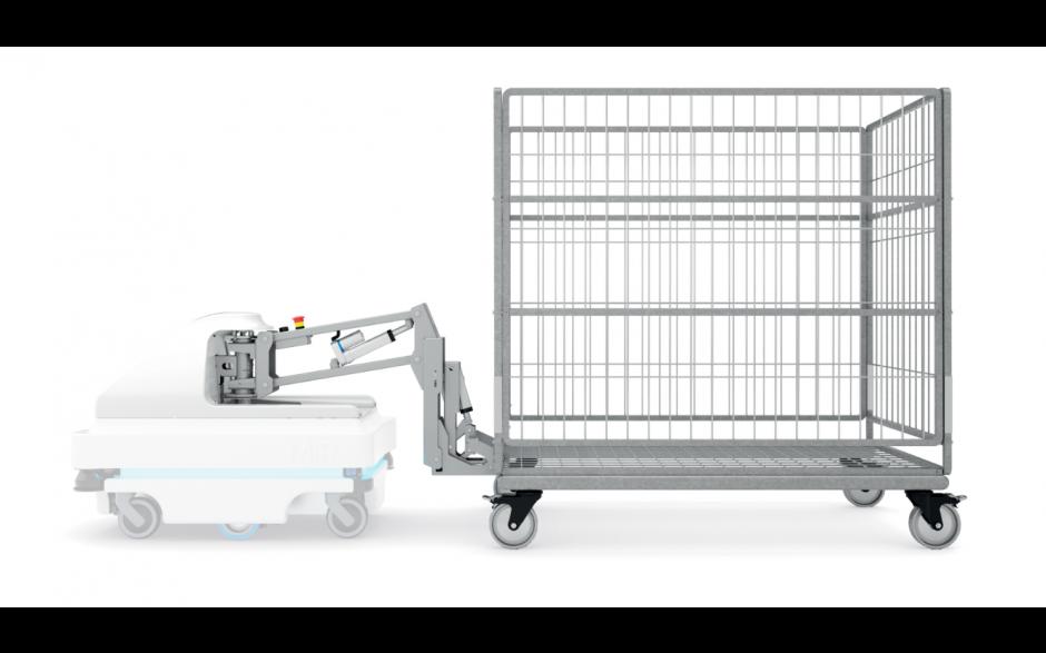 MiRHook 100 - moduł rozszerzający możliwości transportowe o holowanie wózków o wadze do 300 kg 3