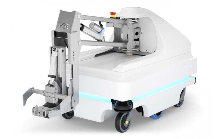 MiRHook 100 - moduł rozszerzający możliwości transportowe o holowanie wózków o wadze do 300 kg 2