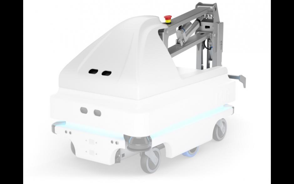 MiRHook 100 - moduł rozszerzający możliwości transportowe o holowanie wózków o wadze do 300 kg 4