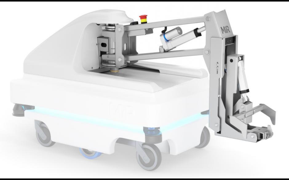 MiRHook 100 - moduł rozszerzający możliwości transportowe o holowanie wózków o wadze do 300 kg 5