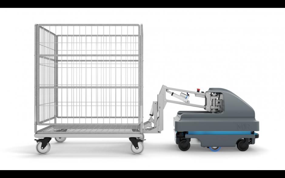 MiRHook 200 - moduł rozszerzający możliwości transportowe o holowanie wózków o wadze do 500 kg 5