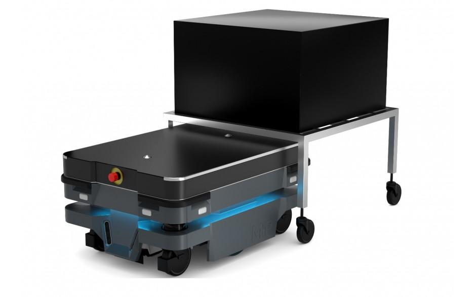 Moduł Shelf - Moduł do automatycznego zaczepiania wózka dla robota MiR100 i MiR200 2