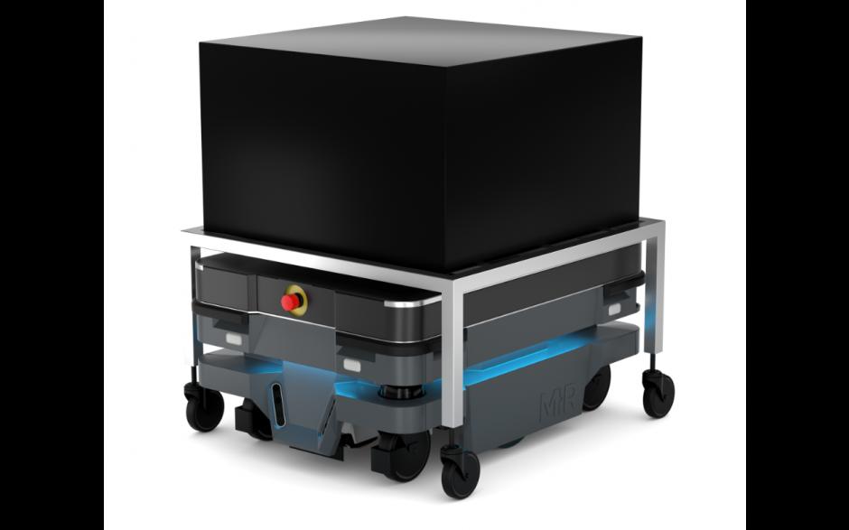 Moduł Shelf - Moduł do automatycznego zaczepiania wózka dla robota MiR100 i MiR200 3