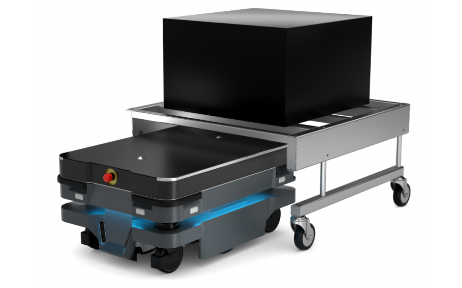 Moduł Shelf - Moduł do automatycznego zaczepiania wózka dla robota MiR100 i MiR200 4