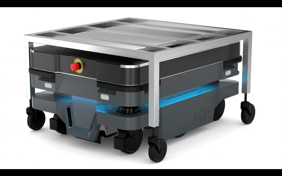 Moduł Shelf - Moduł do automatycznego zaczepiania wózka dla robota MiR100 i MiR200 5