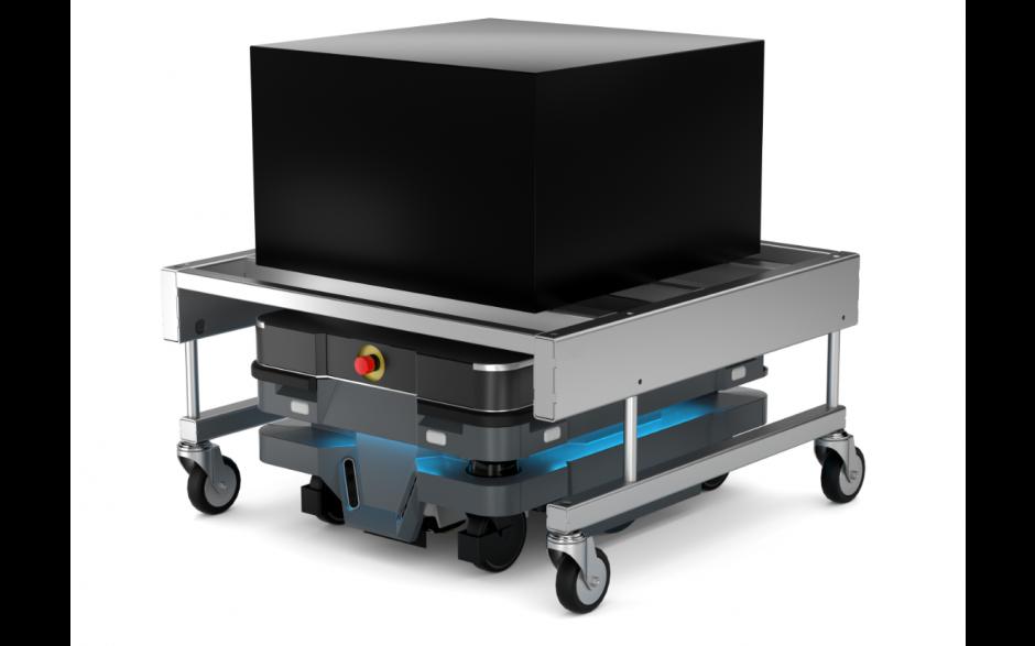 Moduł Shelf - Moduł do automatycznego zaczepiania wózka dla robota MiR100 i MiR200 6