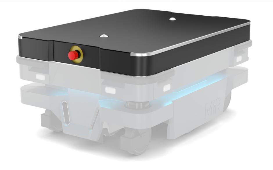 Moduł Shelf - Moduł do automatycznego zaczepiania wózka dla robota MiR100 i MiR200 7