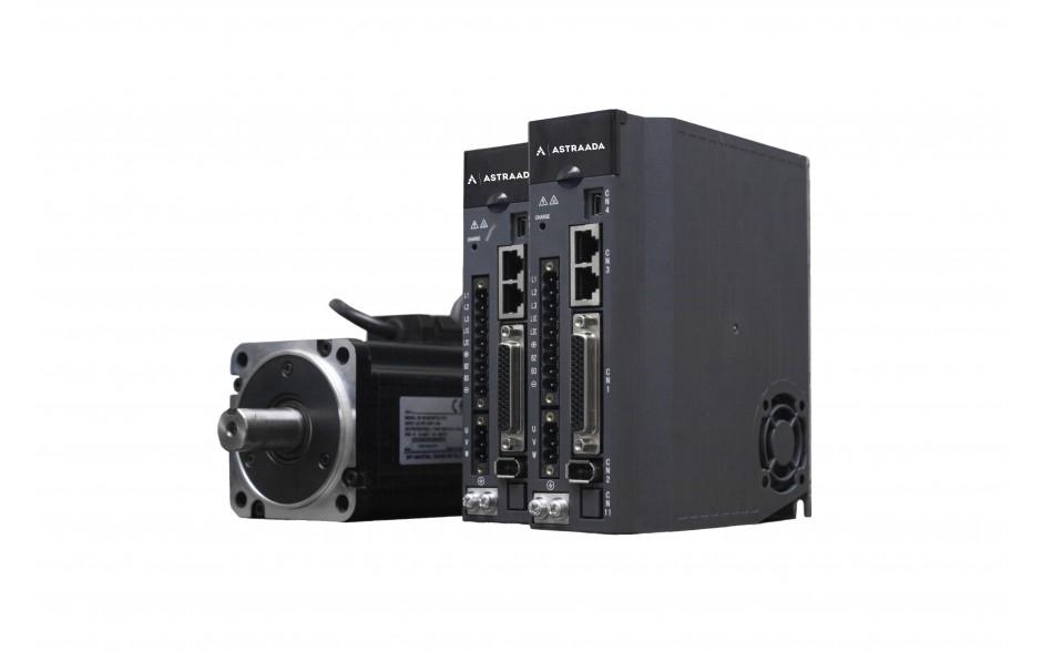 Kabel SRV-64 5m do enkodera absolutnego silnika 0,2 kW, 0,4 kW oraz 0,75 kW - elastyczny