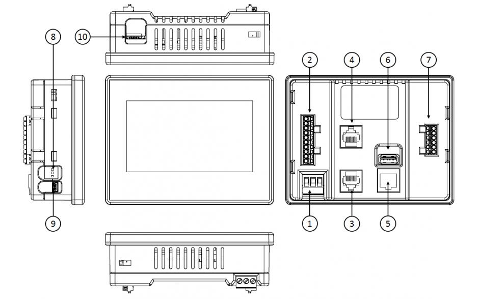"""PROMOCJA - Sterownik PLC z HMI X5 - 4.3"""" + e-szkolenie 3"""