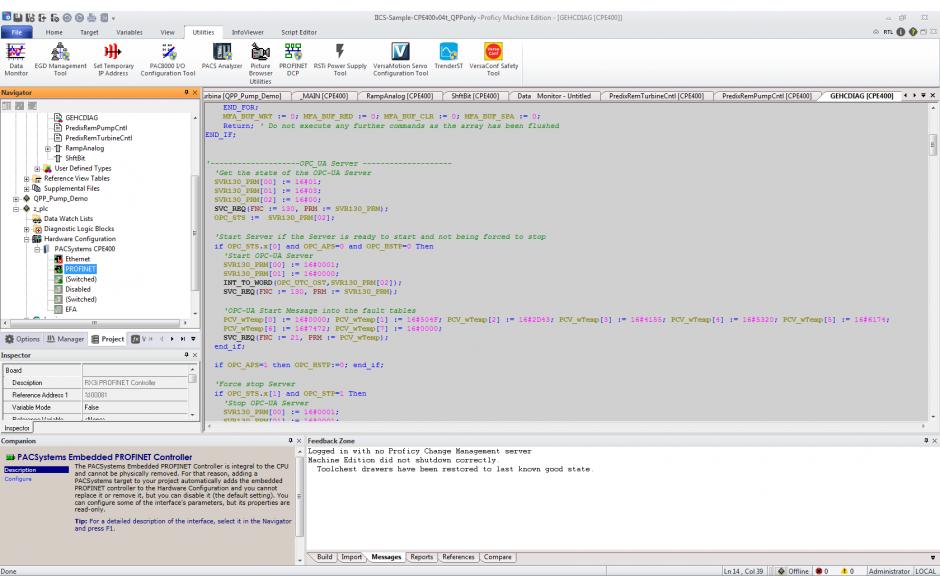 Licencja Proficy Machine Edition Professional Suite wer. 9.5 z pakietem Acceleration Plan. Promocja na jednorazowy zakup oprogramowania. 4