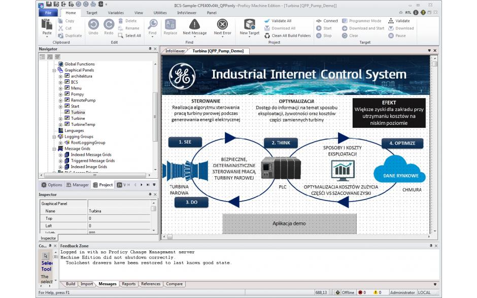 Licencja Proficy Machine Edition Professional Suite wer. 9.5 z pakietem Acceleration Plan. Promocja na jednorazowy zakup oprogramowania. 3