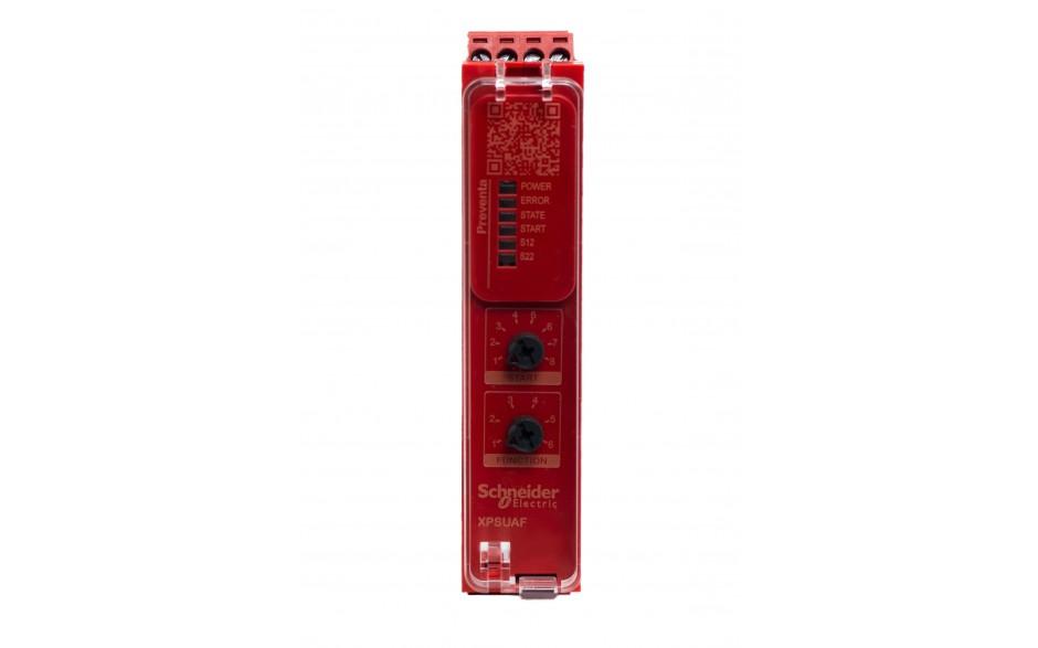 Moduł bezpieczeństwa Schneider Electric Preventa XPSUAF13AP, kat.4, 24 V AC/DC, 3 NO, zaciski śrubowe, 3 lata gwarancji 2