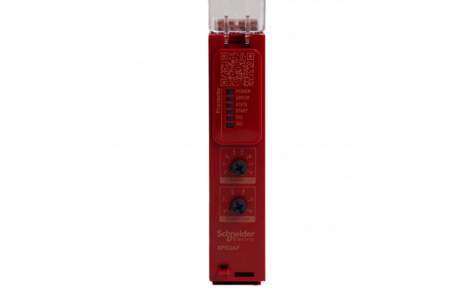 Moduł bezpieczeństwa Schneider Electric Preventa XPSUAF13AP, kat.4, 24 V AC/DC, 3 NO, zaciski śrubowe, 3 lata gwarancji 4