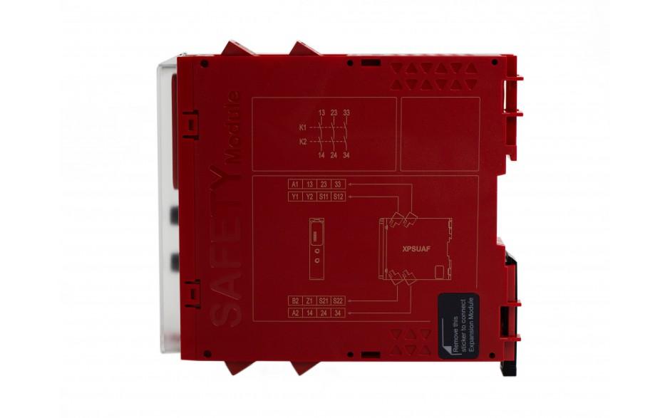 Moduł bezpieczeństwa Schneider Electric Preventa XPSUAF13AP, kat.4, 24 V AC/DC, 3 NO, zaciski śrubowe, 3 lata gwarancji 6