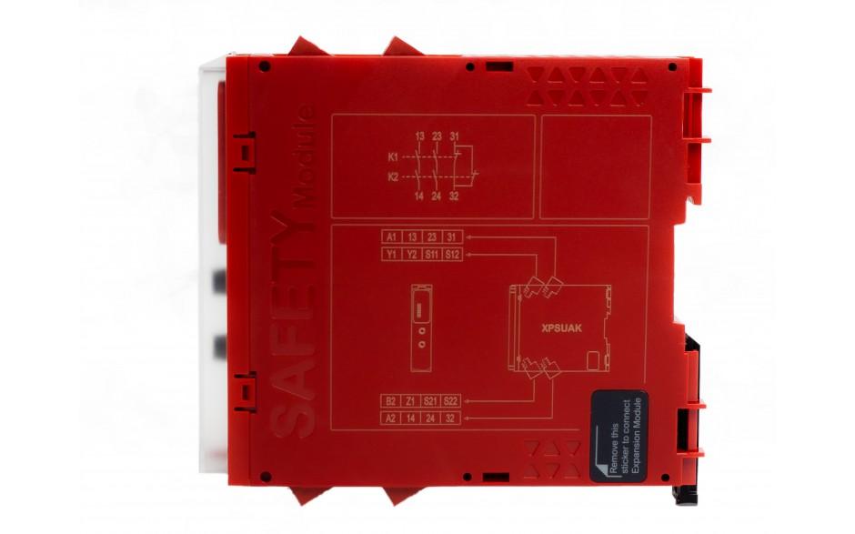XPSUAK12AP - Moduł bezpieczeństwa Schneider Electric Preventa Universal XPSU, kat.4, 24 V AC/DC, 2 NO + 1 NC, zaciski śrubowe, 3 lata gwarancji 6