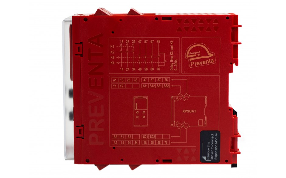 Moduł bezpieczeństwa Schneider Electric Preventa XPSUAT13A3AP, kat.4, 24 V AC/DC, 3 NO + 3 NO + 1 NC, zaciski śrubowe, 3 lata gwarancji 6
