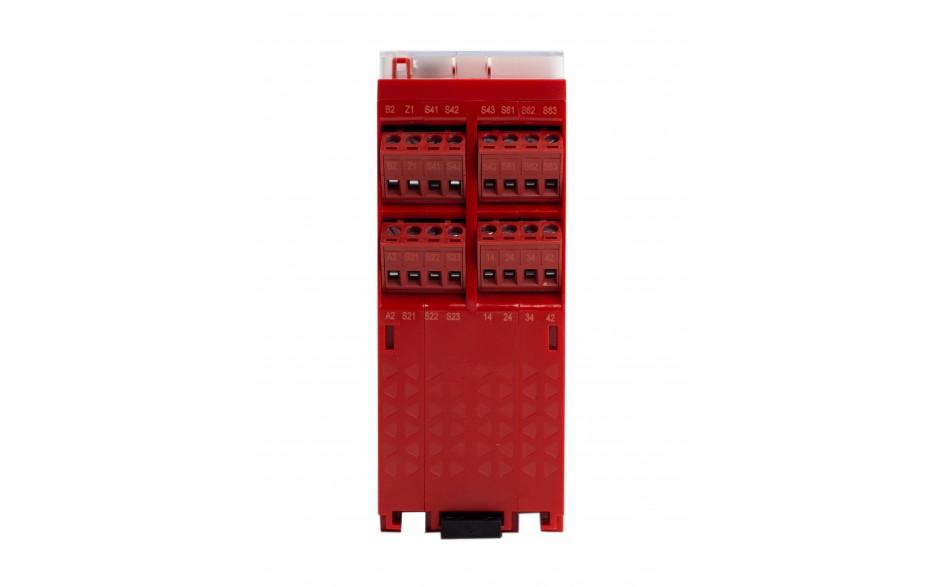 XPSUDN13AP - Moduł bezpieczeństwa Schneider Electric Preventa Universal XPSU, kat.4, 24 V AC/DC, 3 NO + 1 NC, zaciski śrubowe, 3 lata gwarancji 3