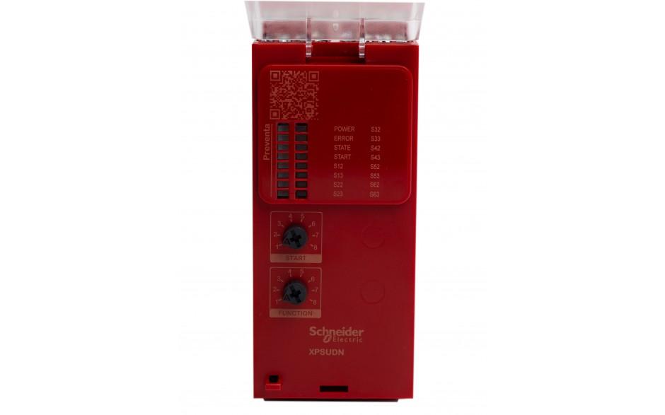XPSUDN13AP - Moduł bezpieczeństwa Schneider Electric Preventa Universal XPSU, kat.4, 24 V AC/DC, 3 NO + 1 NC, zaciski śrubowe, 3 lata gwarancji 5