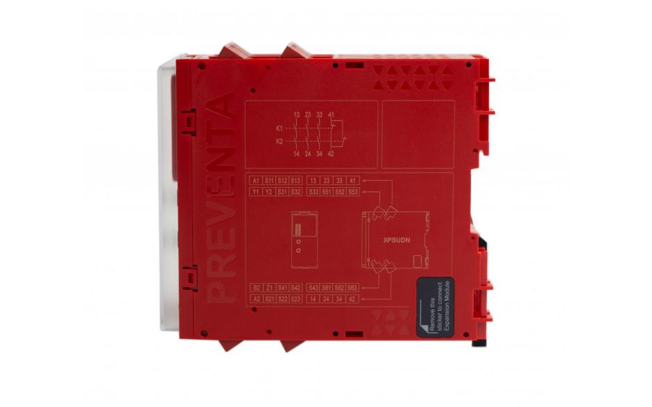 XPSUDN13AP - Moduł bezpieczeństwa Schneider Electric Preventa Universal XPSU, kat.4, 24 V AC/DC, 3 NO + 1 NC, zaciski śrubowe, 3 lata gwarancji 6