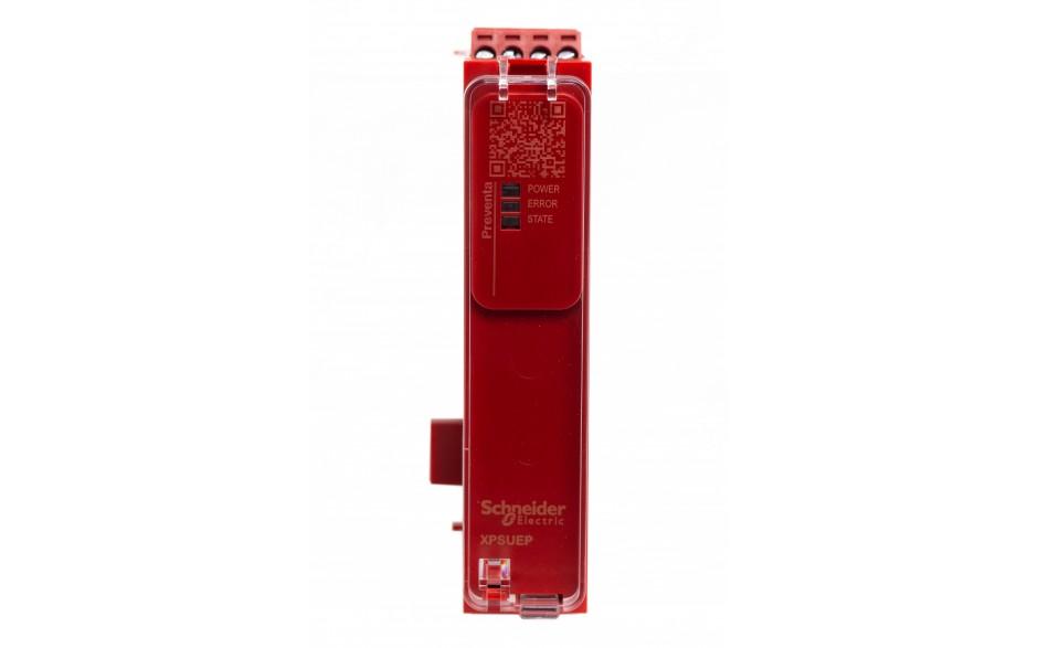 XPSUEP14AP - Moduł rozszerzenia styków Schneider Electric Preventa Universal XPSU, kat.4, 24 V AC/DC, 4 NO + 2 NC, zaciski śrubowe, 3 lata gwarancji 2