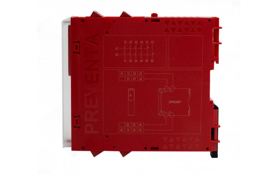 XPSUEP14AP - Moduł rozszerzenia styków Schneider Electric Preventa Universal XPSU, kat.4, 24 V AC/DC, 4 NO + 2 NC, zaciski śrubowe, 3 lata gwarancji 6