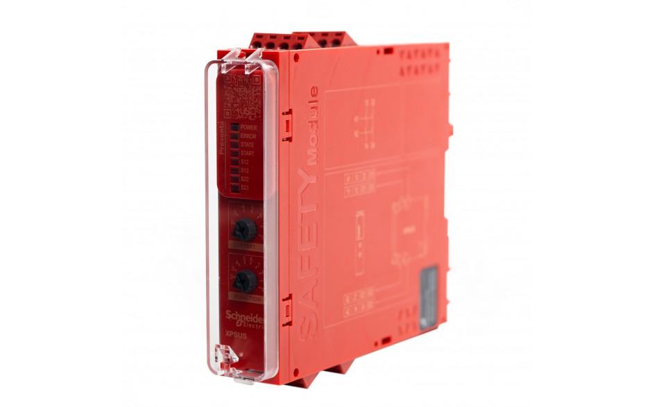 Moduł bezpieczeństwa Schneider Electric Preventa XPSUS12AP, kat.4, 24 V AC/DC, 2 NO, zaciski śrubowe, 3 lata gwarancji