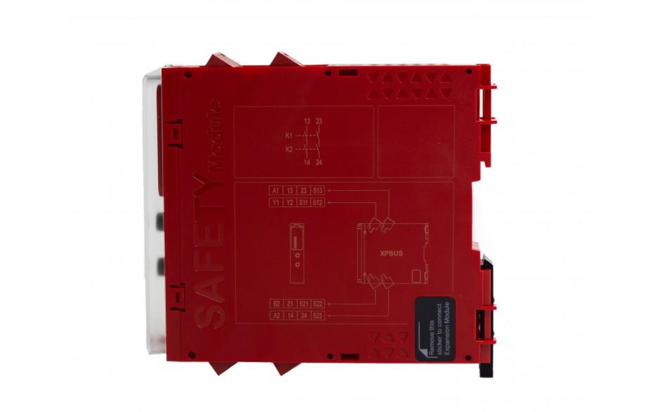 XPSUS12AP - Moduł bezpieczeństwa Schneider Electric Preventa Universal XPSU, kat.4, 24 V AC/DC, 2 NO, zaciski śrubowe, 3 lata gwarancji 6