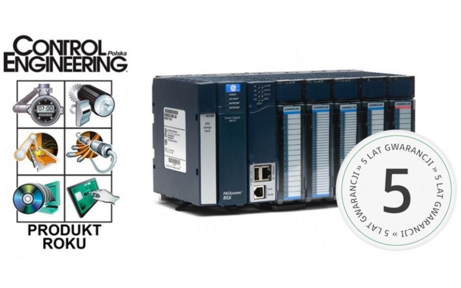PROMOCJA - Zestaw startowy PACSystems RX3i; RS232, Ethernet, USB; 16x DI (24 VDC), 16x DO (24 VDC); zasilanie 24 VDC