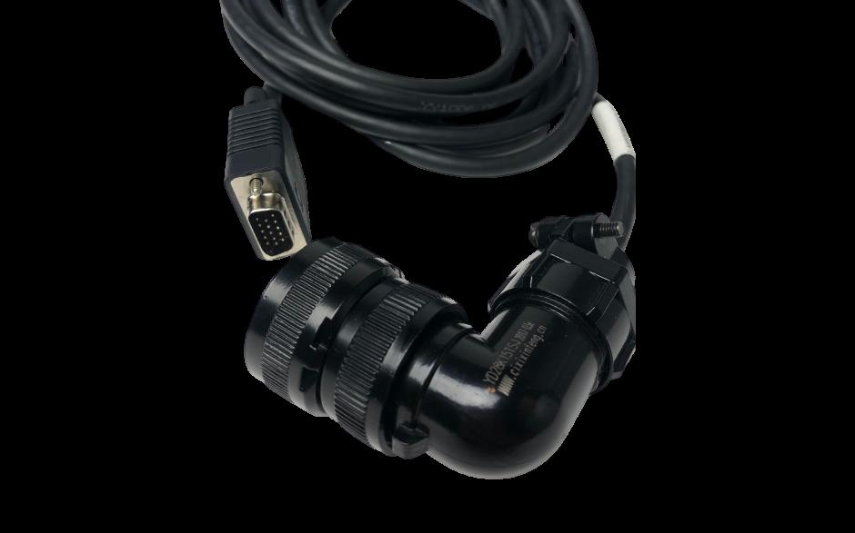 Kabel 5m do enkodera absolutnego silnika 1kW, 230V; 2…5.5kW, 400V