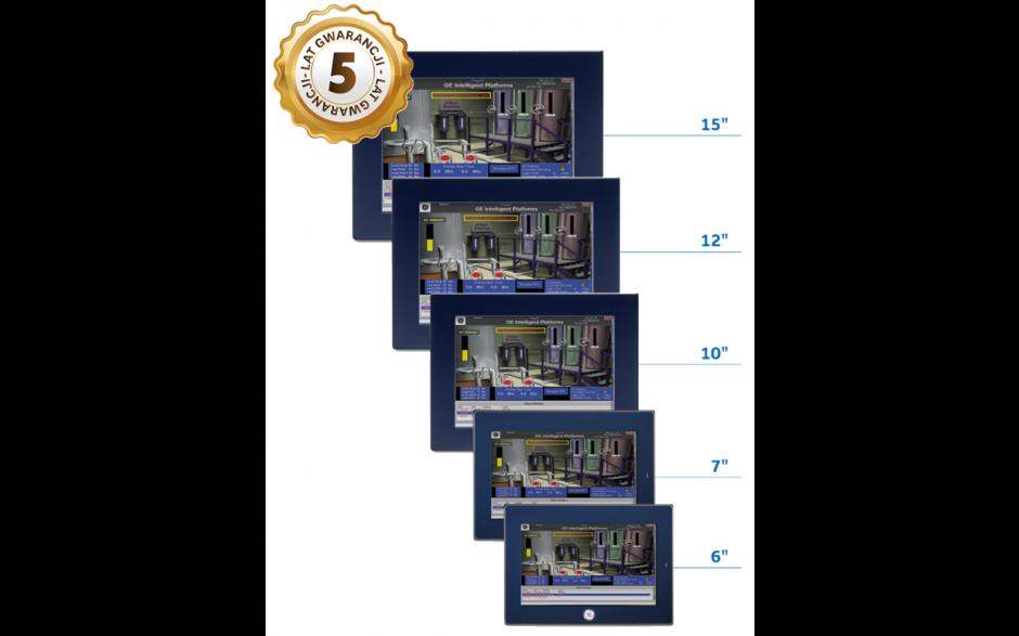 "Dotykowy panel operatorski QuickPanel+; 7"" Multi-touch, 1GHz, 512 MB RAM, 256 MB Flash, 1xETH, RS232, 2xUSB, 24VDC 5"