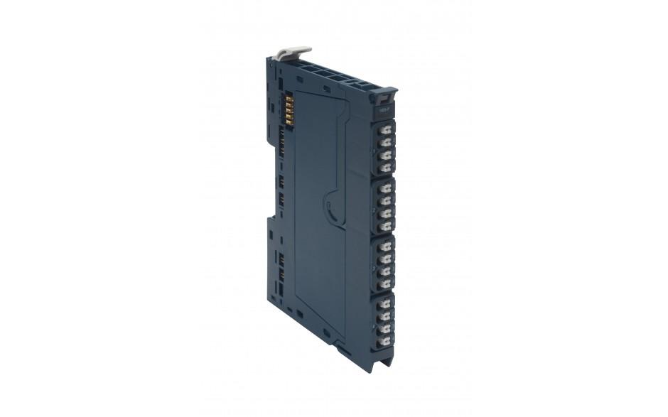 RSTi-EP - 4 wyjścia analogowe prądowo/napięciowe (0-5V; ±5V; 0-10V; ±10V; 0-20mA; 4-20mA); 16 bit; diagnostyka modułu i kanałów pomiarowych