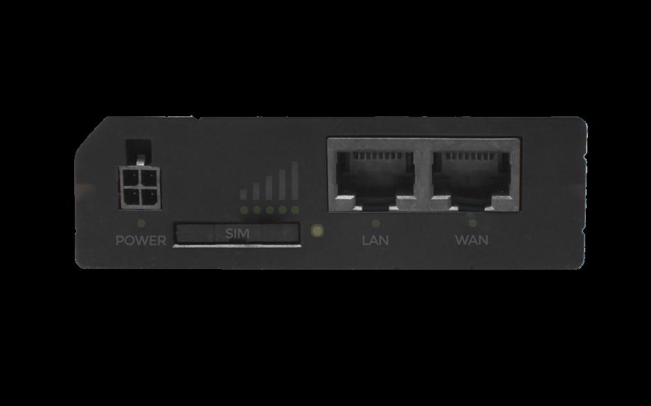 RUT240 - Router przemysłowy 4G (LTE); Ethernet; 64MB RAM; SMS; IPSec; openVPN; WiFi; montaż na szynie DIN 3