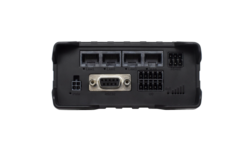 RUT955 - Router przemysłowy 4G (LTE); Ethernet; RS232/485; 128MB RAM; DUAL SIM; SMS; IPSec; openVPN; WiFi; montaż na szynie DIN 3