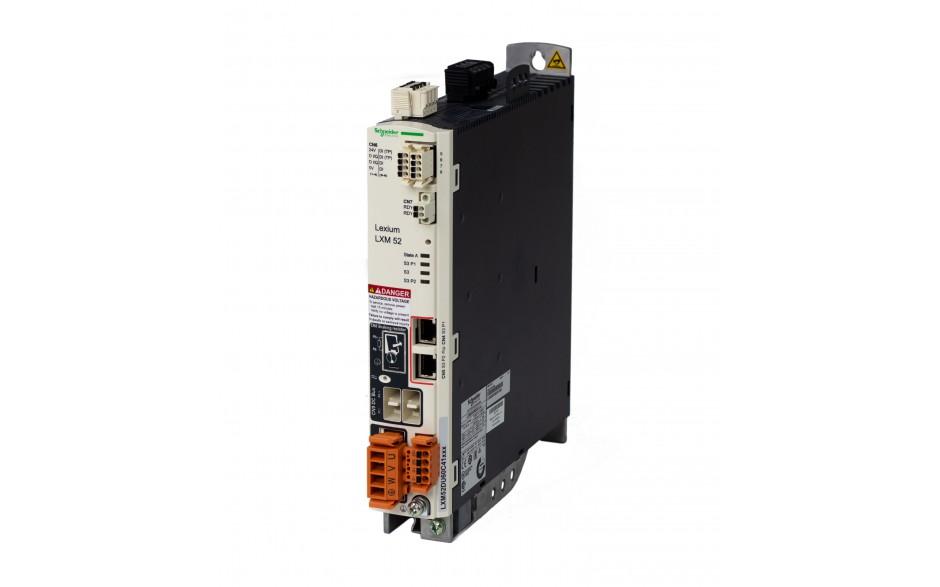 Serwonapęd Lexium 52; moc 7kW; prąd pracy ciągłej 24A; sterowanie Sercos 3