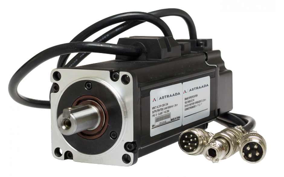 Zestaw startowy do sterowania serwonapędem Astraada SRV 400W EtherCAT 6