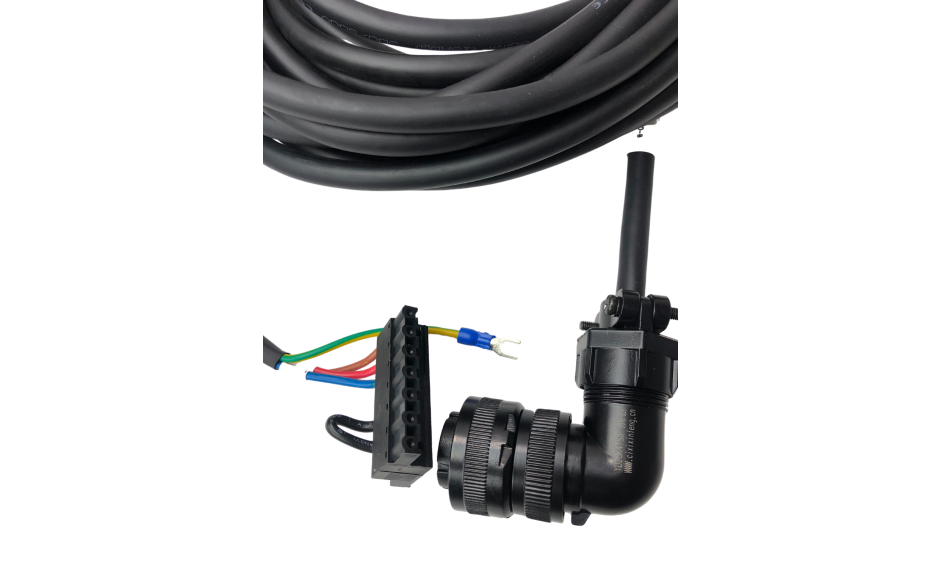 Wyprzedaż - Kabel zasilający 3m do silników 4.4…5.5kW, 400V z enkoderem absolutnym / inkrem