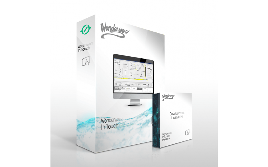Wonderware InTouch 2017 Development z Runtime z I/O - 64 zmienne