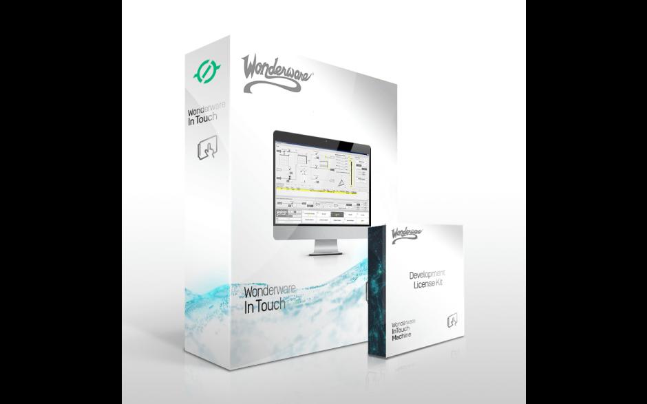 Wonderware InTouch 2017 Development z Runtime z I/O - 64 zmienne - uaktualnienie 3