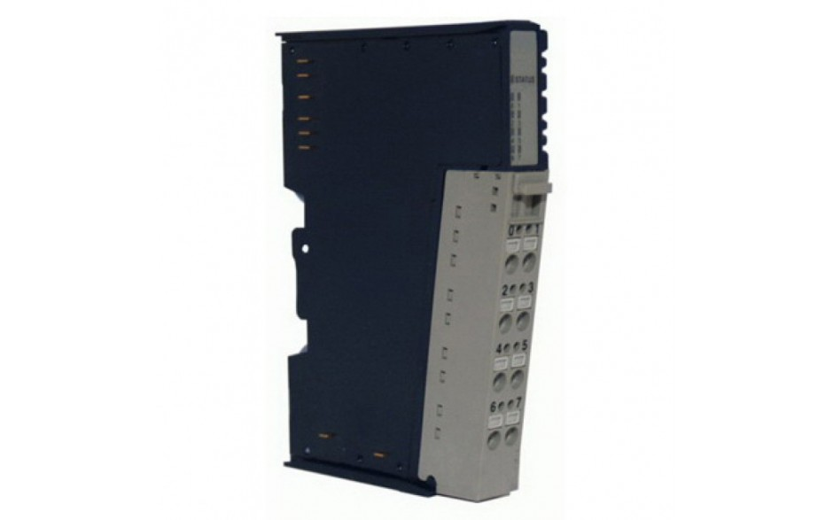 RSTi - moduł 4 wyjść dyskretnych; logika dodatnia; 24VDC; 0.5A