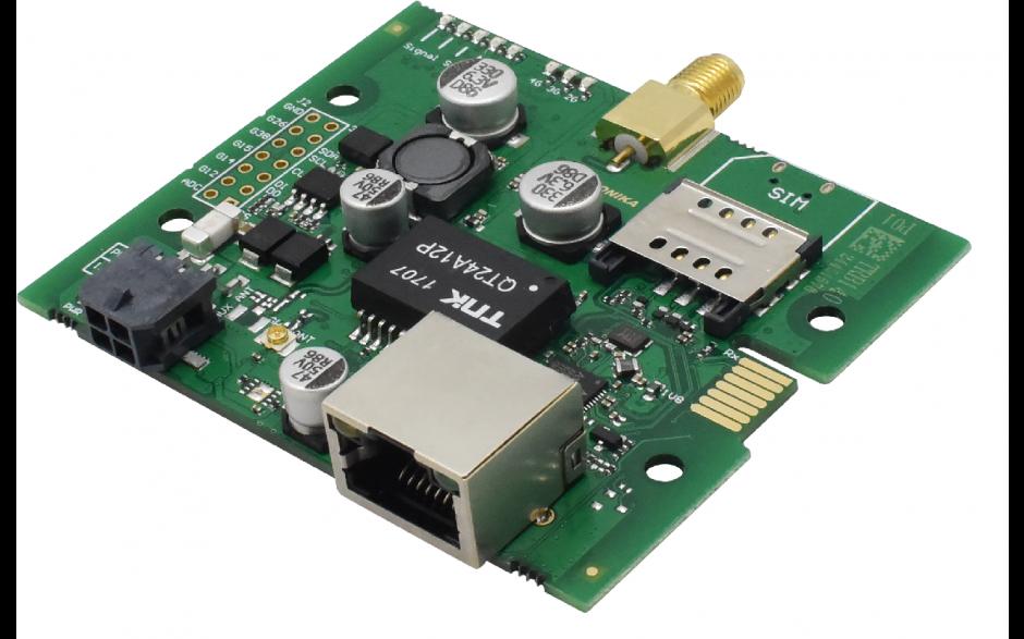 TRB140 - Gateway komórkowy 4G (LTE); Ethernet; 128MB RAM; SMS; IPSec; openVPN; możliwy montaż na szynie DIN 5