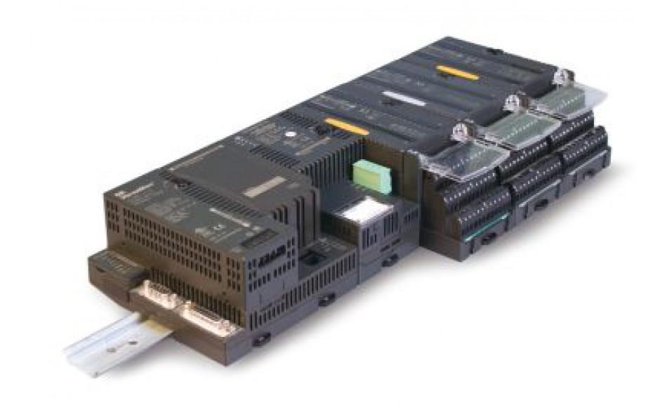 16 wejść cyfrowych (24 VDC logika dodatnia/ujemna); 8 wyjść przekaźnikowych (2.0 A)