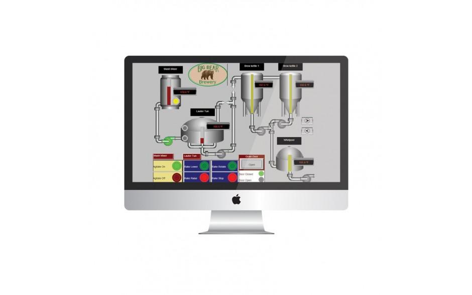 WebMI - Zdalny dostęp do sterowników Horner - Licencja na 5 użytkowników, 25 zmiennych, 5 ekranów 5