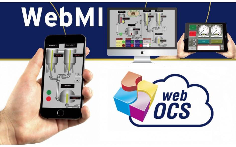 WebMI - Zdalny dostęp do sterowników Horner - Licencja na 5 użytkowników, 25 zmiennych, 5 ekranów 3