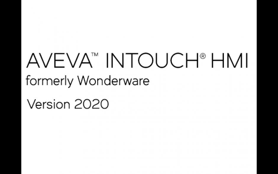 AVEVA InTouch HMI (dawniej Wonderware) 2020 Runtime z I/O - 3000 zmiennych