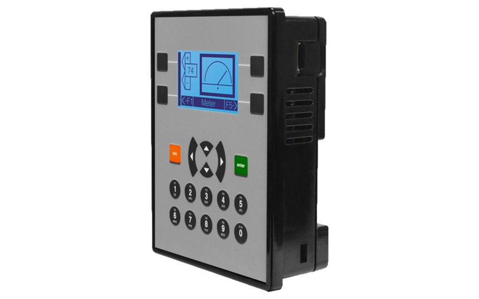 """Zestaw startowy z e-szkoleniem - Sterownik PLC z HMI X2 - 2.2"""", 12x DI (24V, 4 HSC 10 KHz), 12x DO (24V, 2 PWM 65KHz), 4x AI (4-20mA, 12 bit), 2x AO (4-20mA, 12 bit) 2"""