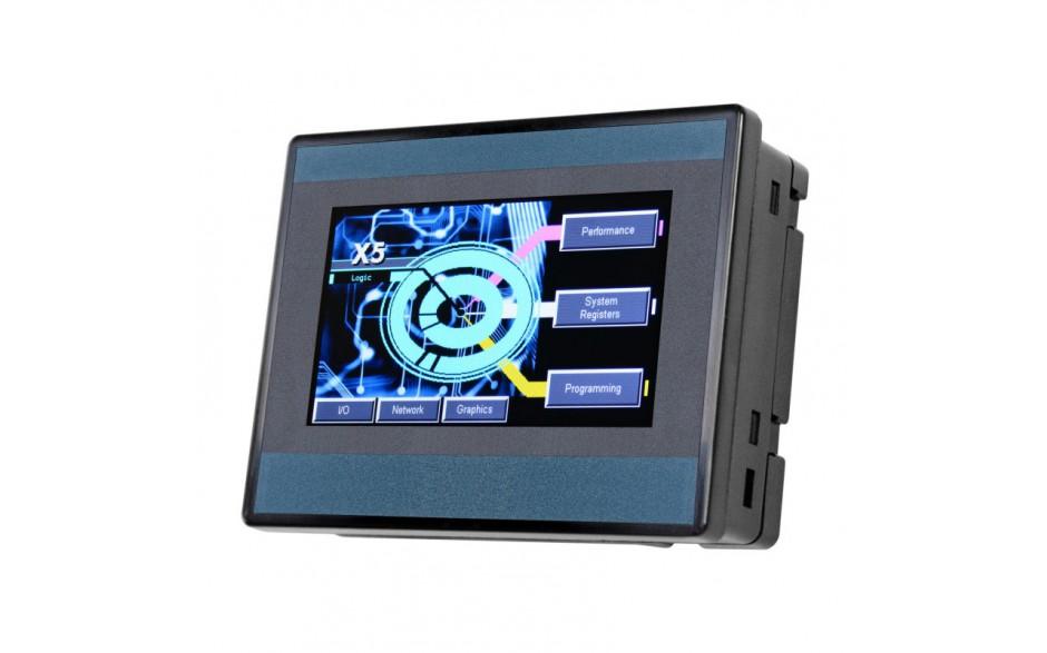 """PROMOCJA - Sterownik PLC z HMI X5 - 4.3"""" + e-szkolenie 2"""