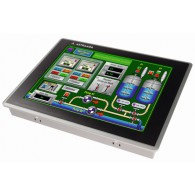 "Dotykowy panel operatorski Astraada HMI, matryca TFT 12"" (1024x768, 65k), RS232/422/485, RS422/485, RS232, USB Client/Host, Ethernet, MicroSD, -20~60C"