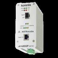 Konwerter światłowodowy Ethernet 1x 10-100-1000TX - RJ45, 1xGigabit - SFP, Kompaktowy