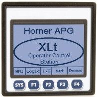 "XLt; PLC + HMI 3.5"" dotykowy; 2 x RS232/485, CAN; 24 DI (24VDC), 16 DO (24VDC), 2 AI (0-10V, 0-20mA); zasilanie 9-30VDC"